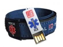 Medical ID Wristband Blue (Large)